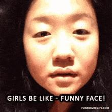 Are there Asian girls who look cute without make-up or surgeries?