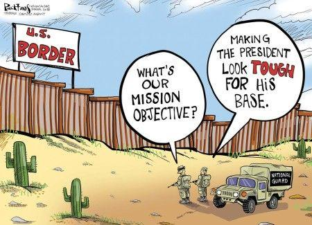 Since trump is still trying to get the wall built whats your thoughts on this?