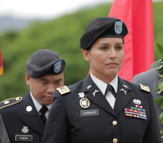 Tulsi Gabbard is being attack by her own group because she doesnt blindly support the leftist cult?