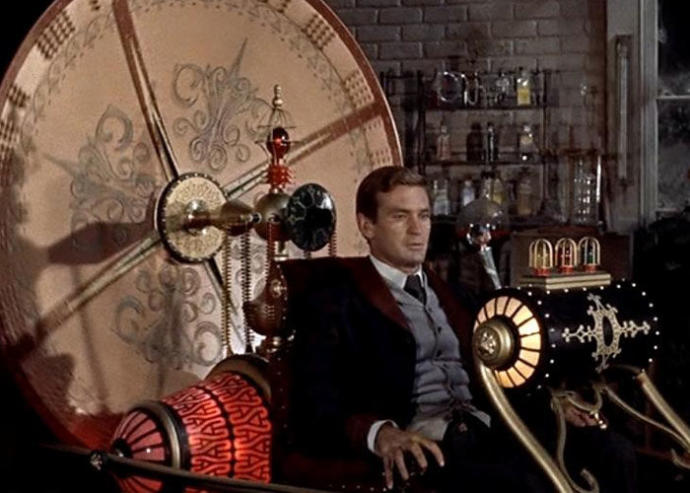 Rod Taylor, The Time Machine