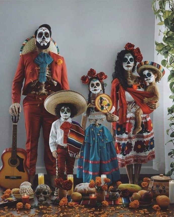 Is there any cooler tradition in the world than the Day of the Dead in Mexico?