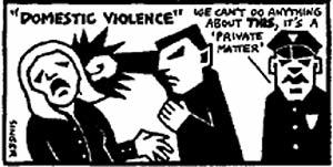 40% of police officer families experience domestic violence, in contrast to 10% of families in the general population. why is this?