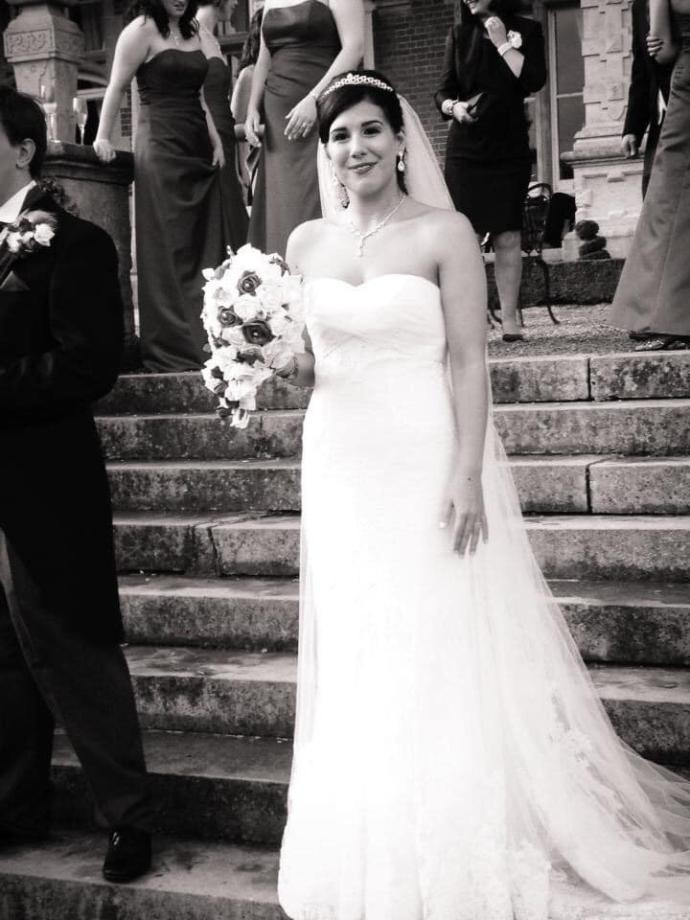Do you ever see the uncertainty in your wedding photos of your ex?