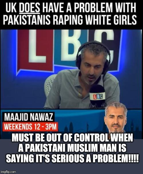 How serious a problem is the Pakistani grooming gangs in Britain?