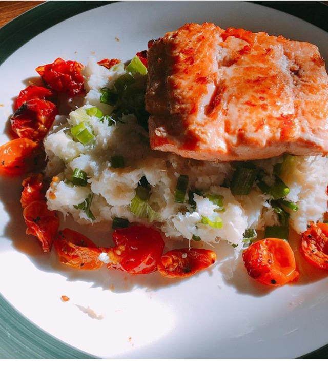 What do you like to eat with your salmon?