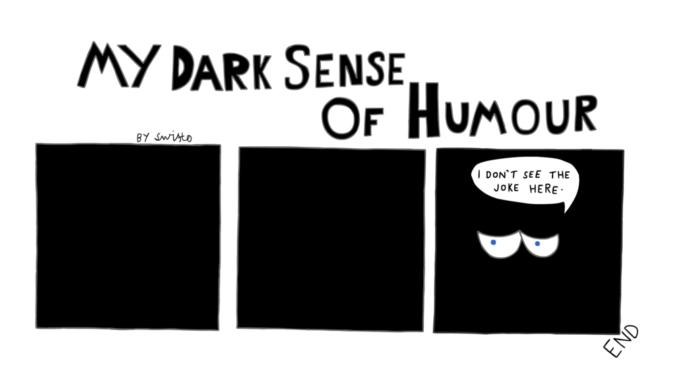 What exactly is a dark humour?