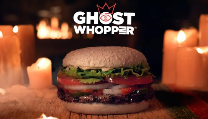 Would you try Burger Kings new Ghost Whopper?