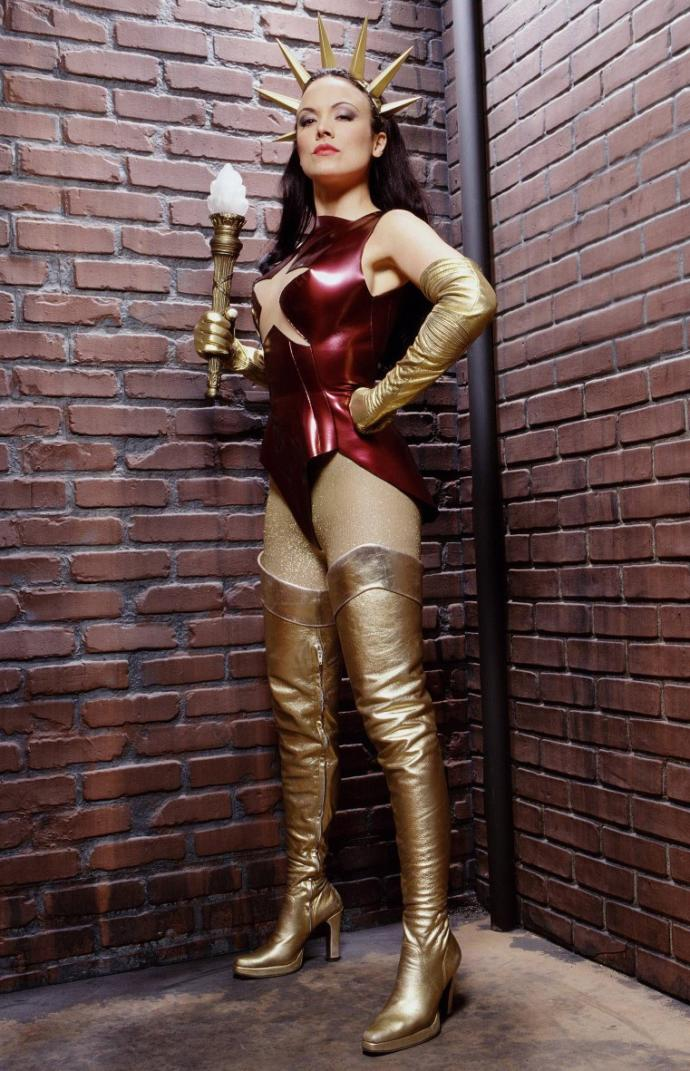 Who is this super heroine and would you consider wearing this costume for Halloween?