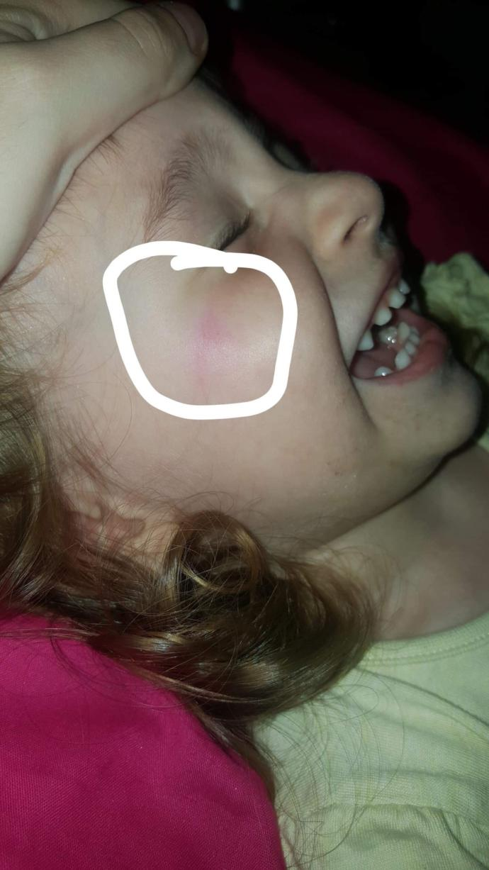 My cousin is physically hurting my three year old, what do I do?