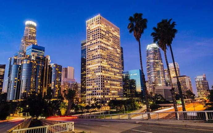 For those of you that have been to or live in L. A. in California how would you describe the city?