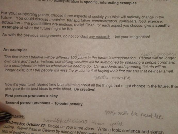 Im Sick, I need help with a paragraph outline please?