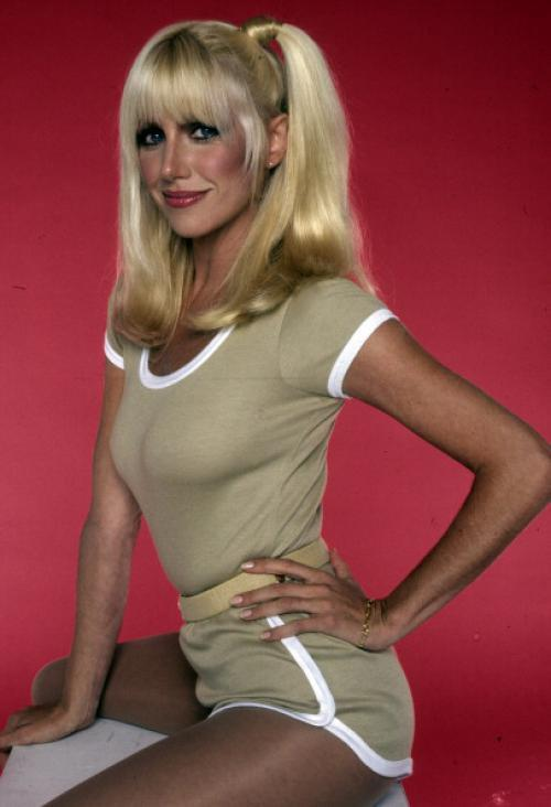 Evelyn - the 37 year old girlfriend - closely resembled Suzanne Somers