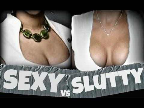 What is sexy vs slutty?