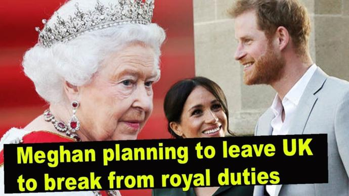Meghan and Harry want to leave Royal duties. Your thoughts?