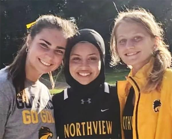 FEMALE high schooler DISQUALIFIED for wearing a hijab during race. Thoughts?