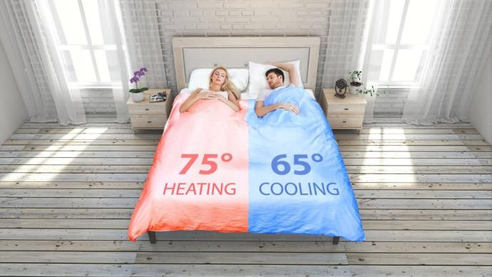 When you sleep, do you prefer being freezing cold, or warm in the bedroom?