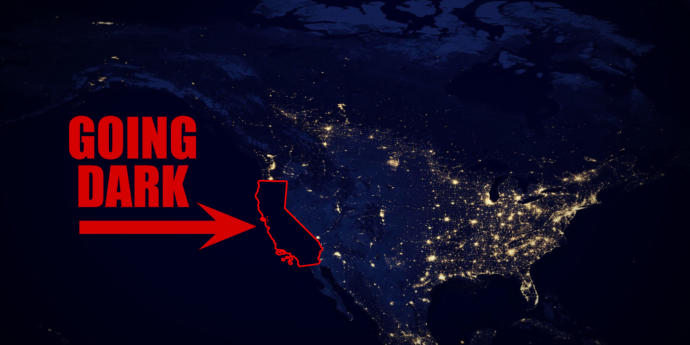 What are your thoughts on the California power outages?