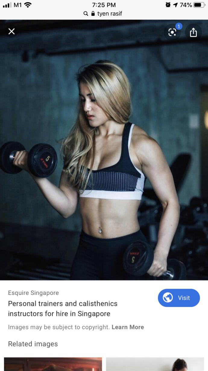 Do you think a girl can be muscular?