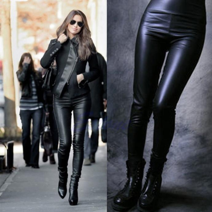 Who else agrees that women wearing leather pants are sexy?
