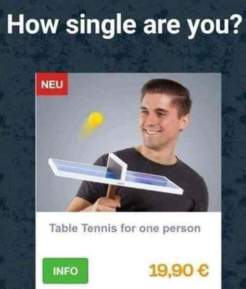 How single are you??
