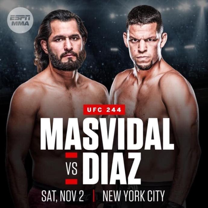 Who watched the Jorge Masvidal vs Nate Diaz fight?