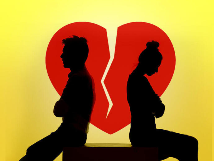 True or false - if someone broke up with you, he/she was over you before the breakup?
