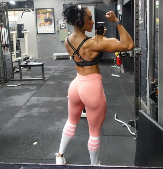 Are fit women with muscles attractive to you?