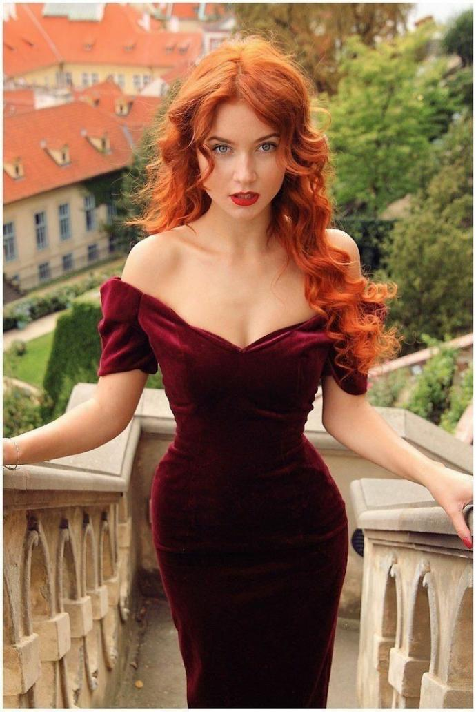 Which picture best presents a redhead to you and or is your favorite choice and why??