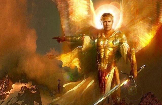 Lord god president Donald J. Trump