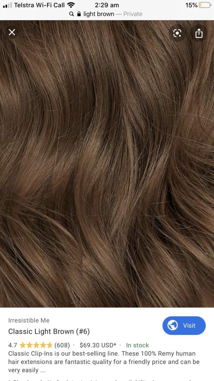 Hair colour problem?