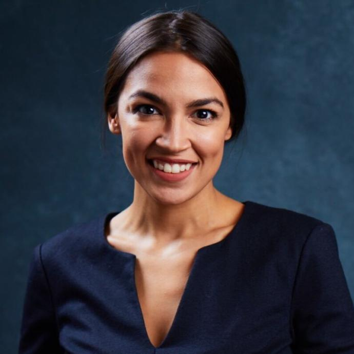 How would you best describe AOC in 1 word?