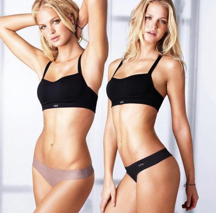 Which model is prettier? Erin or Lindsay?
