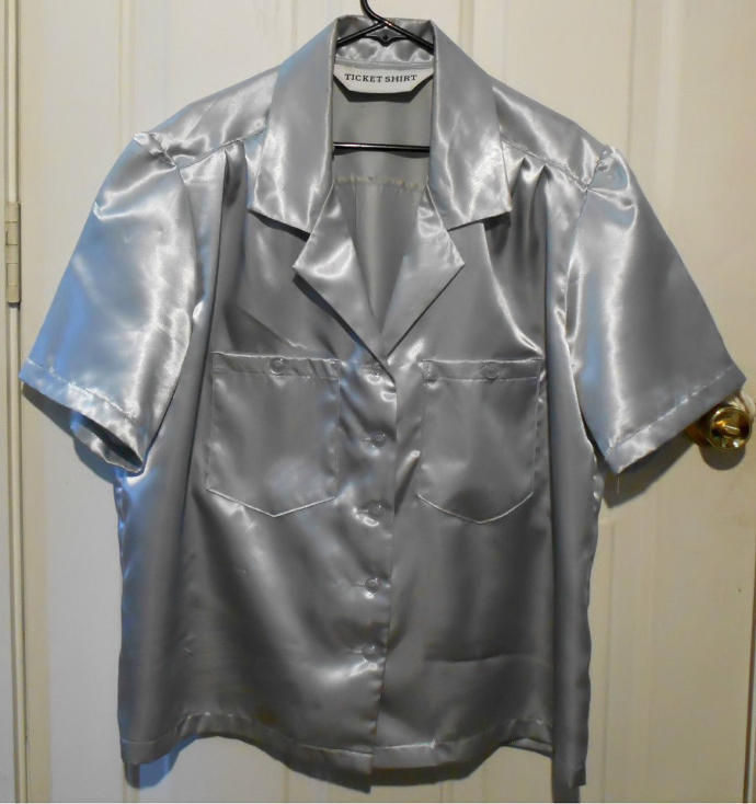 Girls, I get sexually aroused and masturbate when I wear my Womans Notched Collar Shirt with Pockets (see photos). Is this a perverted Fetish?