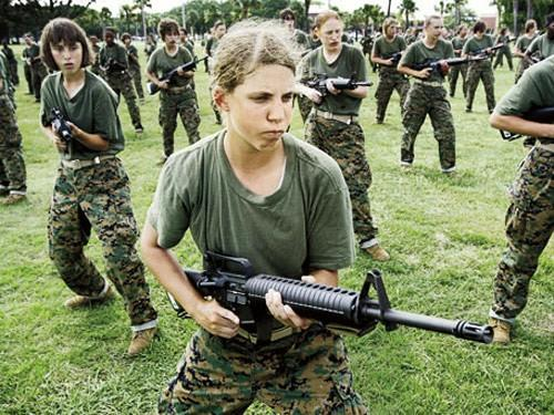 What do you think about girls being included with the army draft with guys?