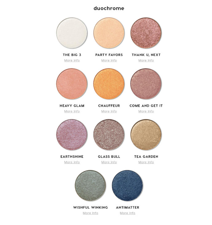 Girls would you want to try this? Create Your own custom eyeshadow palette?