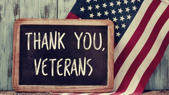 Are you aware today is Veterans Day? Are you a Veteran or are you honoring any Veterans today?