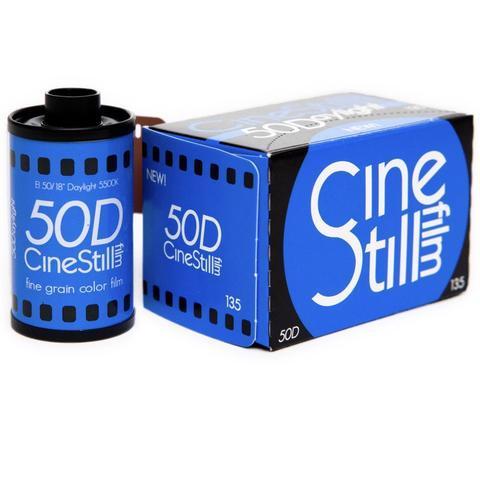 ISO 50 35mm fine grain film