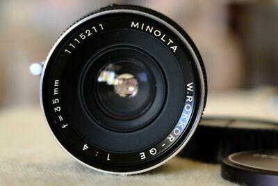 35mm Minolta MD lens