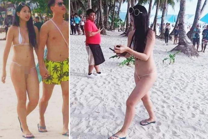 Fined for wearing bikini! What do you think of the news?