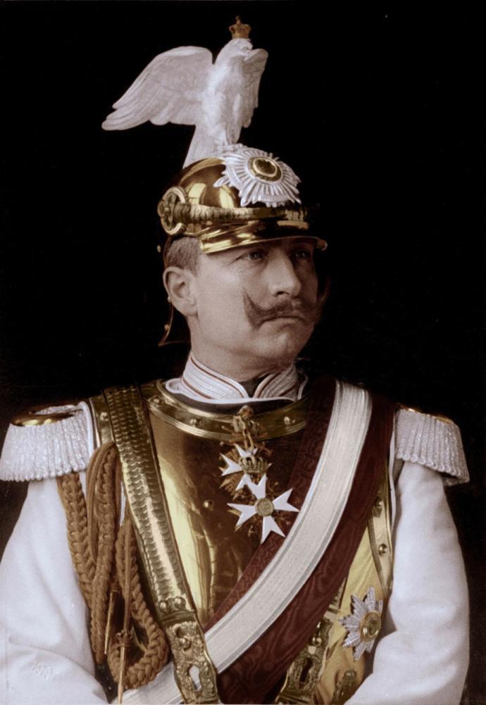 Wilhelm Von Hohenzollern, the last German emperor