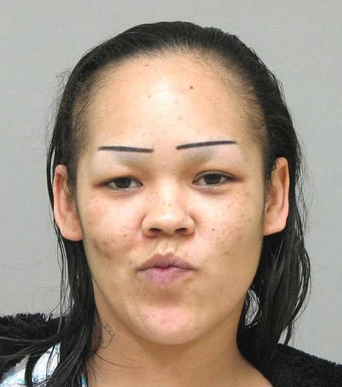Whats up with the eyebrow deformation fetish?