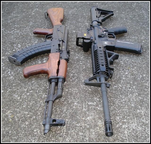 AK or AR, which do you prefer?