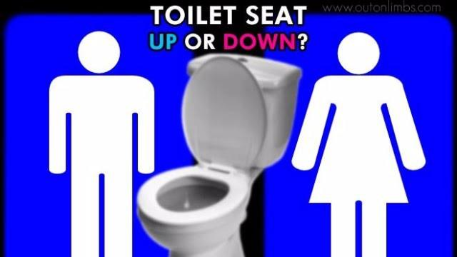 Should girls start leaving the seat up for guys?