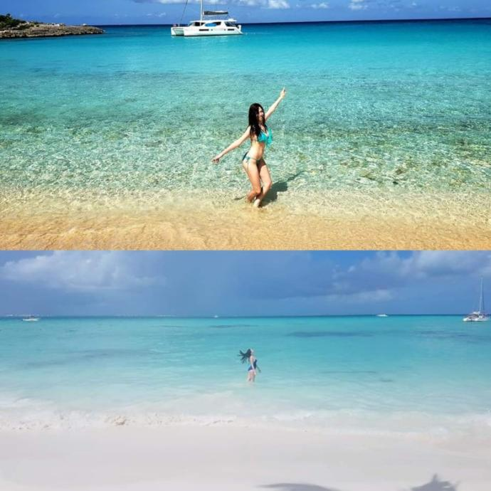 Which kind of beach do you like more?