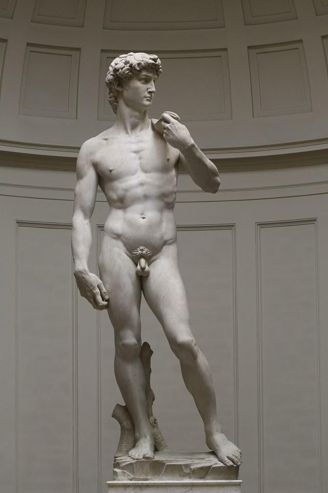 Does the statue of David make you wet?