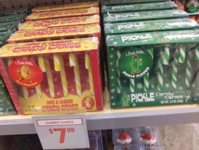 Would you try these random candy canes or these beverages?