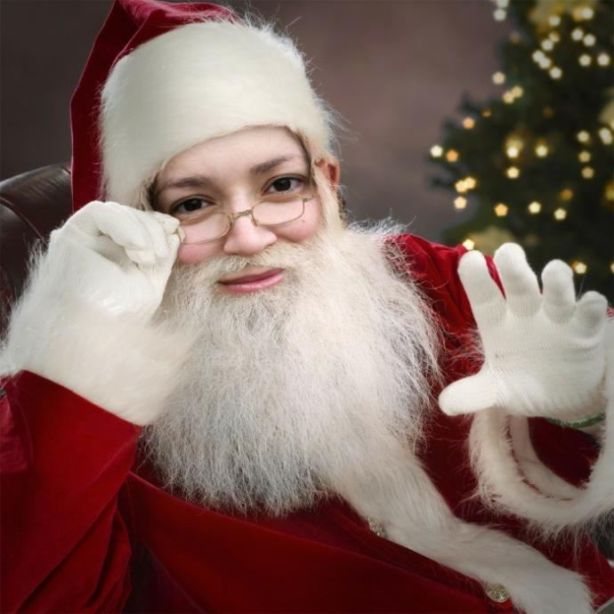 What do you think about a female mall santa?