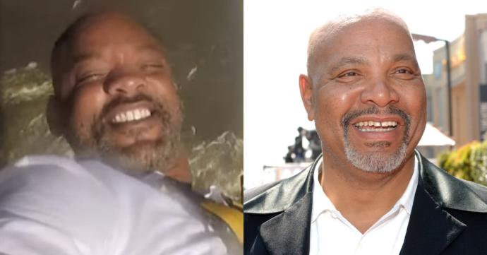 Will Smith looking like Uncle Phil :P
