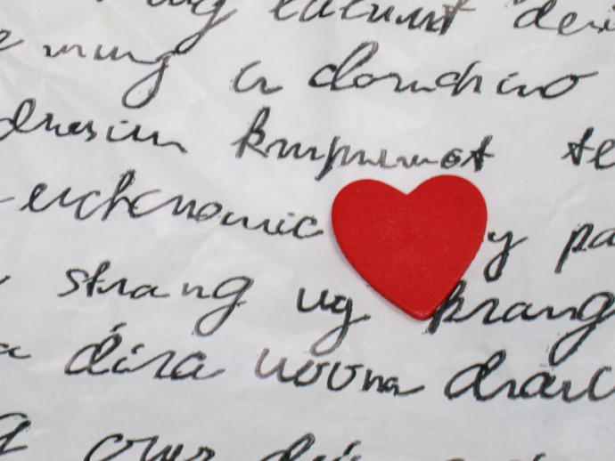 Has someone ever wrote you a love letter?