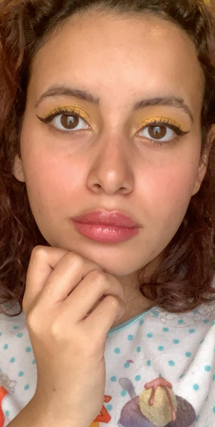 Makeup look #1 with my new eyeshadow palette how is it?